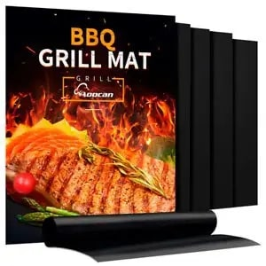 Aoocan Grill Mat - Set of 5 Heavy Duty