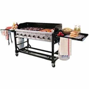 BBQ grill Commercial Grade Outdoor Gas Griddle